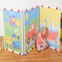 Transport Screen Square Divider